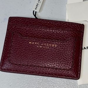 Marc Jacobs credit card case color mulled